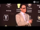 Jean-Claude Van Damme on the red carpet of the 17th SIFF, 2014