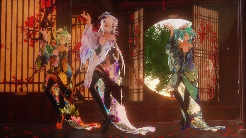 【MMD】🌸響喜乱舞🌸 Kyouki Ranbu