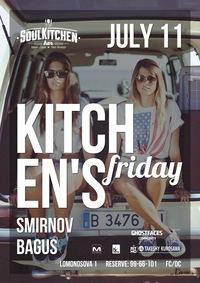 11.07 - KITCHEN'S FRIDAY / SOUL KITCHEN