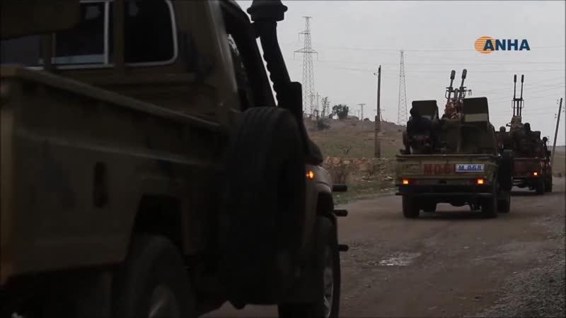 Συρία 13 12 2018 Επίκειται σύγκρουση φιλότουρκων με το YPG (Ροτζάβα) ανατολικά του Ευφράτη
