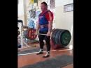 Александр Клюшев - тяга 370 кг на 3