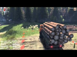 SpinTires beta 2014 map complete