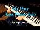 My Way Jazz Piano Solo