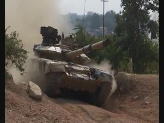 «Индра-2018»: тренировка со стрельбой из вооружения танков Т-90 и БМП-2