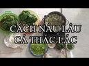 Hướng dẫn nấu lẩu cá thác lác khổ qua hột vịt lộn