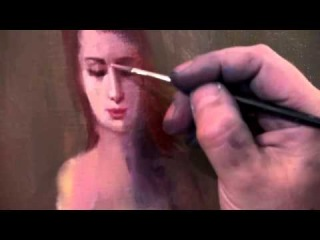Научиться рисовать маслом, писать маслом начинающему, художник Сахаров