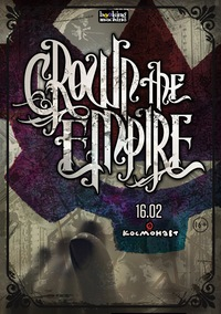 Crown The Empire :: 16.02 - Питер :: Космонавт