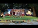 Детский концерт в городе Китен