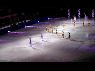 Туркменская команда фигуристов. Международный детский фестиваль танцев на льду 2013