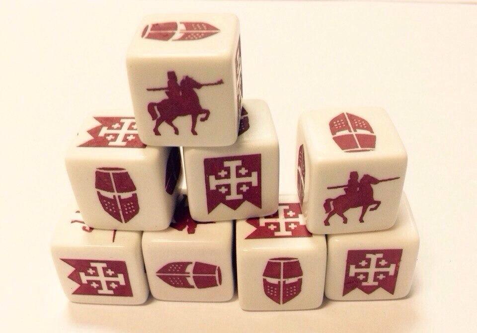кубы SAGA dice