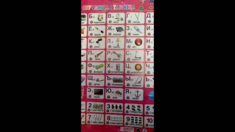 Интерактивная азбука Азбукварик