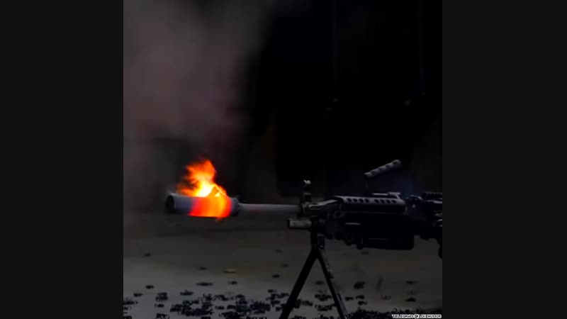 испытания пулемета