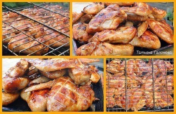 Готовим куриные крылышки - 10 лучших рецептов