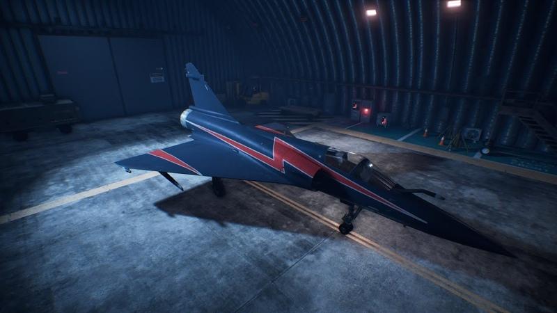 Ace Combat 7: Skies Unknown - Mirage-2000-5 Unlock Erusia Skin\Ps4