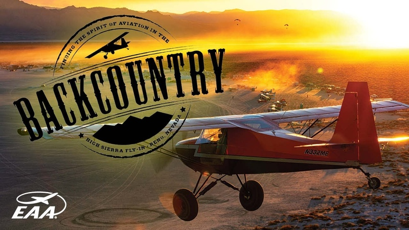 Finding The Spirit of Aviation in the Backcountry High Sierra Fly In