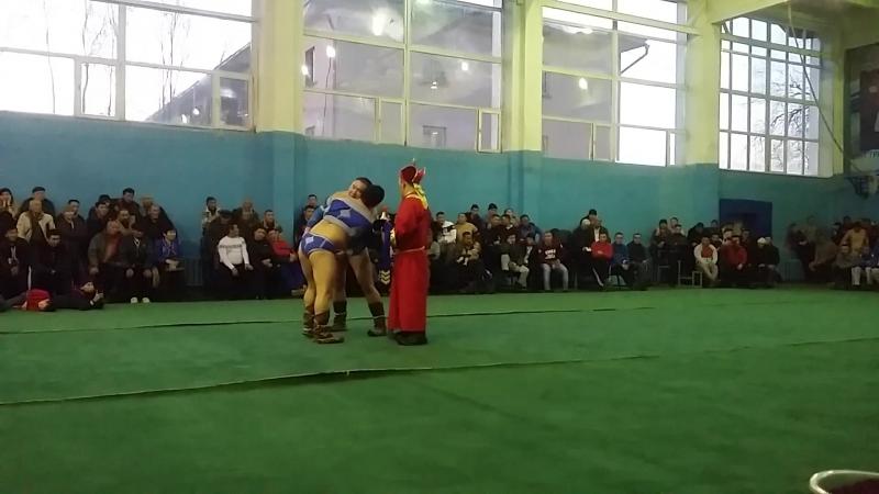 Полуфинал С-Б Тулуш - Э Кара-Сал 28.10.17