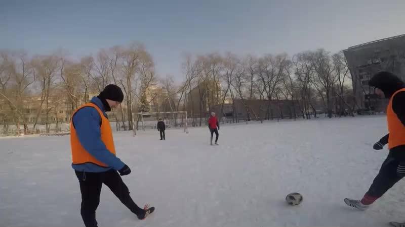 Зимний чемпионат Новокузнецка 18-19. 3 тур. Кузня - СПАМ