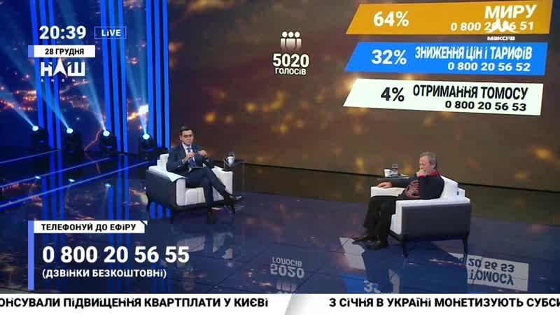 Бистряков З Росією буде легше домовитися ніж з жителями Донбасу Події дня 28