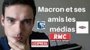 Macron dirige les médias