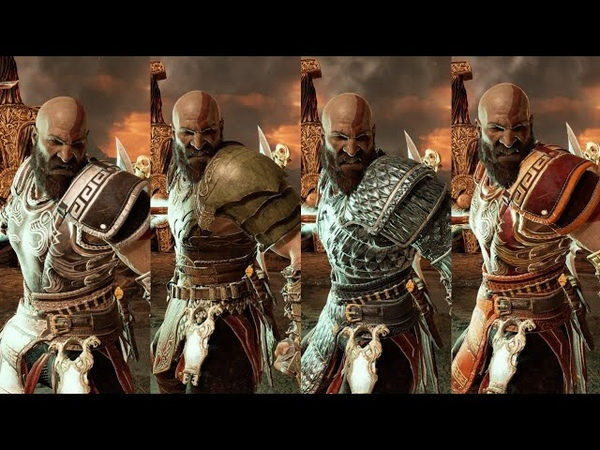 God of War Combos With All Runic Skills! The Real Kratos