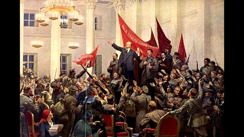 Красное знамя The Red Banner Russian Revolution song 100 years
