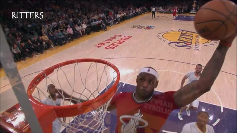 SLAM-DUNK LeBron by Wade