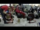 Установка стальной рамы на стантбайк Видео от нашего клиента из Латвии