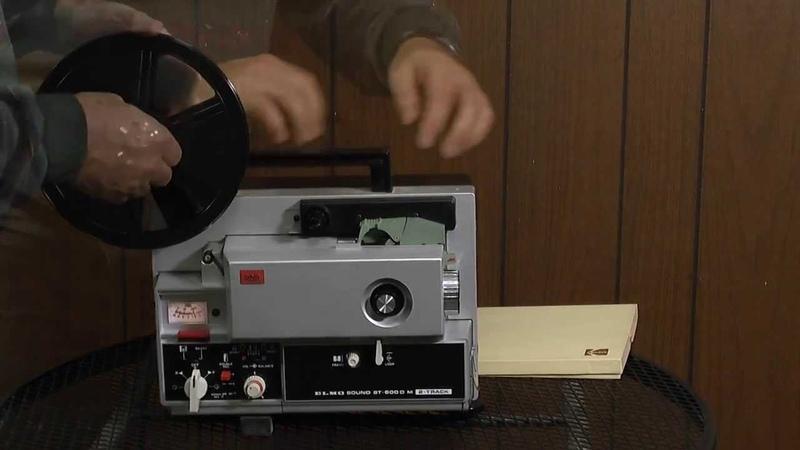 Elmo Super-8 Sound Projector