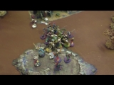 THE STATION FFH Играем Warhammer Herlequin VS Necrons