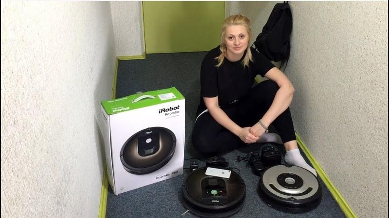 Честный отзыв о iRobot Roomba 980. Сравнение роботов-пылесосов, плюсы и минусы.