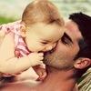 Папа и дочь*
