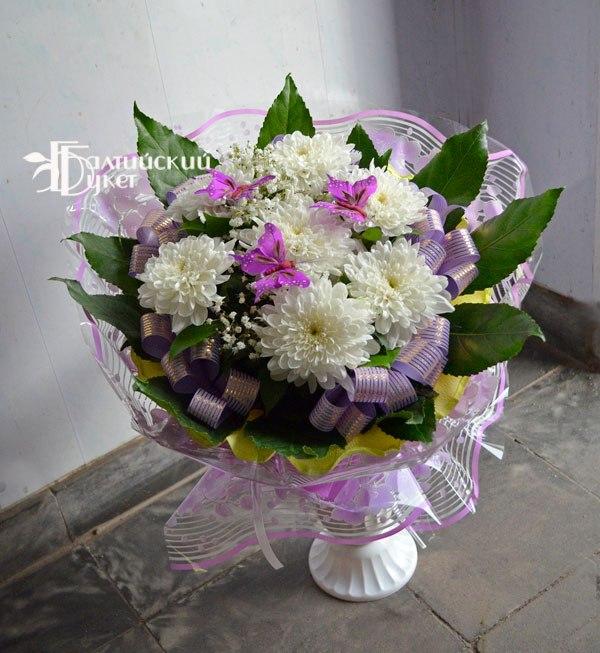 Букеты из дешевых цветов своими руками 377