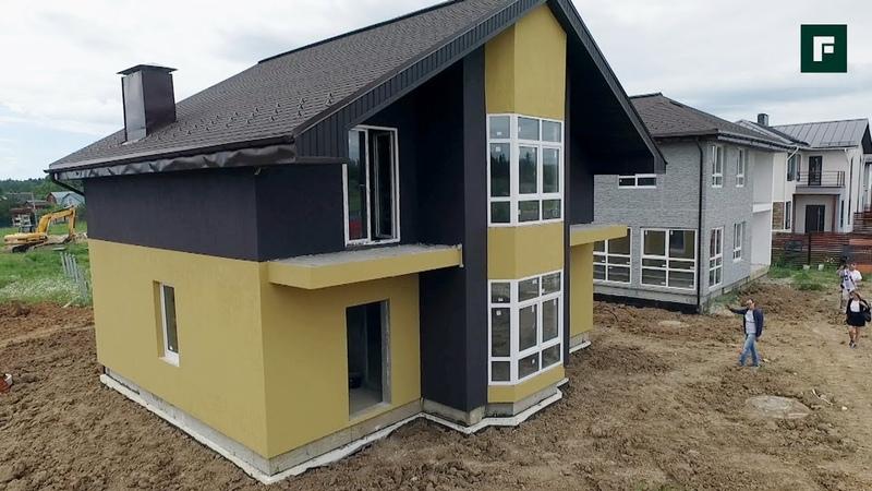 Быстровозводимые дома из трёхслойных железобетонных панелей FORUMHOUSE
