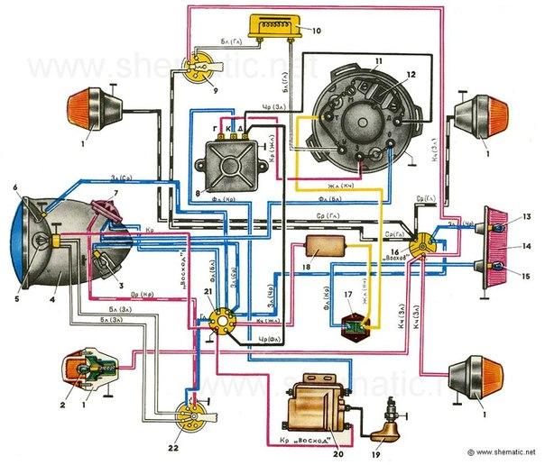 11 - генератор; 12 - датчик;
