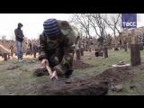 Кадры первых занятий в крымской школе молодых саперов