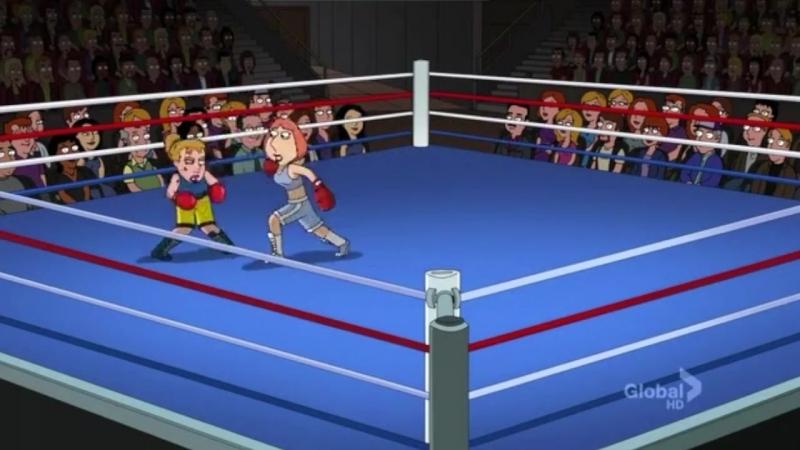 Family Guy Boxing Scenes