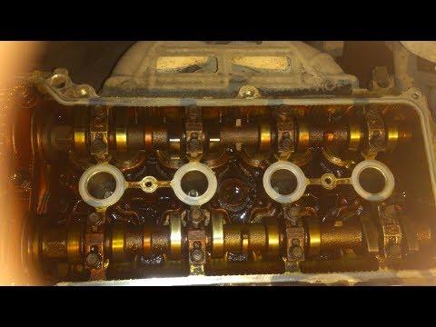 Замена прокладки клапанной крышки королла Е120
