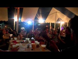 Mumford & Sons Acoustic Superjam at Wakarusa 2011