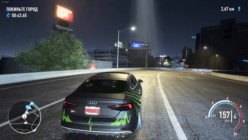 Need for Speed Payback Погоня