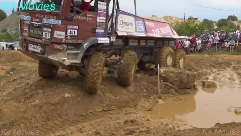 8x8 MAN truck in Europe truck trial _ Off-Road _ Langenaltheim, Germany 2018 _ no. 401
