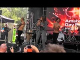 Dana International - Down On Me Live @ Amsterdam Gay Pride 2014