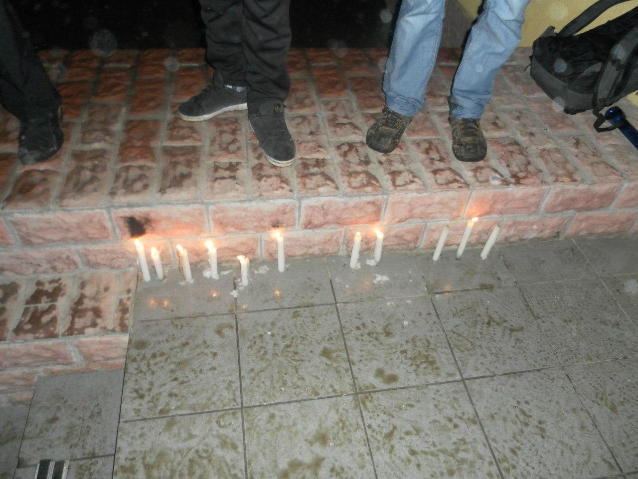 В Ивано-Франковске не выпустили внутренние войска на Киев