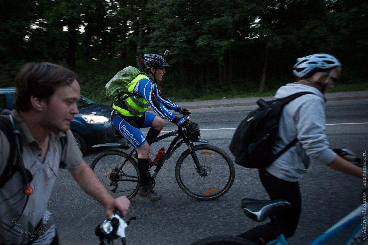 Велопробег по Дороге жизни