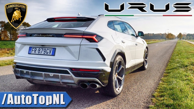 LAMBORGHINI URUS | PURE! SOUND | EXHAUST REVS ONBOARD FLYBY by AutoTopNL