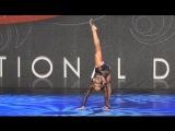 Kaylee Quinn performing Hallelujah in the Showbiz National 2014 Showdown