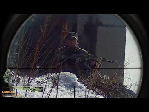 ICESNIPE DIV. Тренировка 22.04.2018 (снайпер в страйкболе)