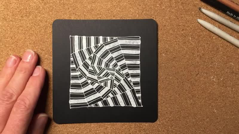 Zentangle® Project Pack 02 - Day Ten