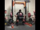 Кристи Хокинс - присед 235 кг на 3 повтора