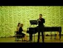 М.Глинка Соната (Неоконченная) для альта (кларнета) и ф-но исп. Мироненко Г. (кларнет), Царегородцева Е. (ф-но)