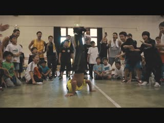 Breakdance kids camp 2018 in summer